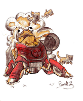 Awesomenauts: Derpl Zork by PaashTheSneasel