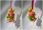 Torchic Ornament by Foureyedalien