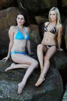 Rommley and Louise - on the rocks 1 by wildplaces
