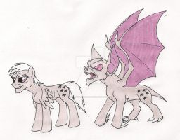 My Little StallionBat by 13foxywolf666