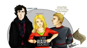 totally sherlocked, gurl by lumen-a