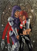 Katarina and Talon by Roew