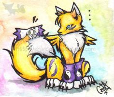 Hola Renamon by Shivita