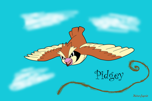 Pidgey Pokemon for challenge by Nejti