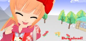 -MMD- Sunsun stage Download! by ThePartyCAKE