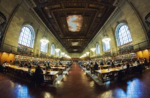 New York Public Library by Bestarns