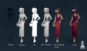Ambient Occlusion Painting Tutorial by DavidAdhinaryaLojaya