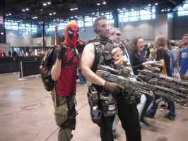 Cabel and Deadpool: Back In Business! Oh and Hope by Darth-Slayer