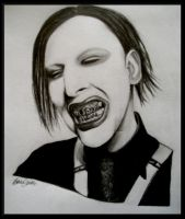 Marilyn Manson by Bexyboo