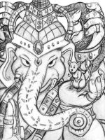 The Hands of Ganesha by JRtheMonsterboy