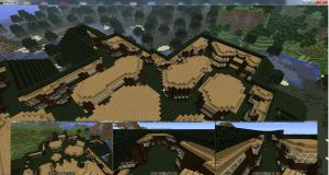 Minecraft Tree town - part 3 by mpw3d