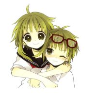 VOCALOID Gumi and Gumo by cam0001