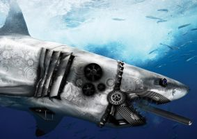 Shark Killer Robot by NekoFOME