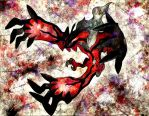 YVELTAL, Dark/Flying-Type Pokemon? by Macuarrorro