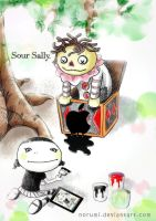Sour Sally, drawing her imagination by norumi