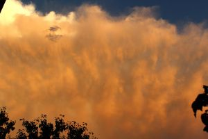 Thunderstorm at Sunset 3 by MadiUhart