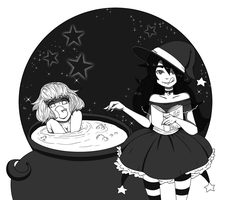 Just A Little Witches Brew - Voretober 10/5-/016 by Just-A-Little-Vore