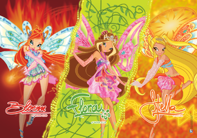 Winx Fairy by saliano