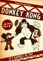 Donkey Kong Poster by dougk101
