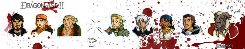 Dragon Age 2 Group by RpAdame