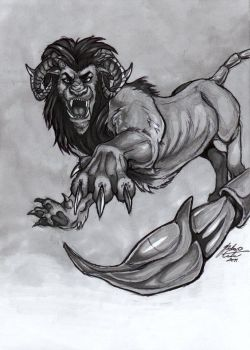 Manticore by green-ermine