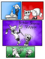 Birthday Surprise by Drakithu