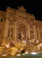 Rome - Trevi Fountain by PhilsPictures