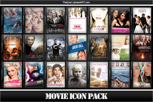 Movie Icon Pack 40 by FirstLine1