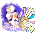 Bee + Puppycat in action! by minimoose1231