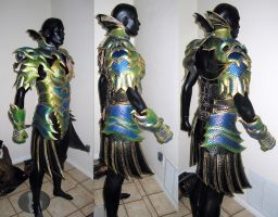 Dragon Armor Yet More Progress by Azmal
