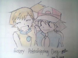 Pokeshipping Day by Uta-Makoto-chan