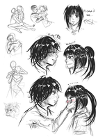 Sketchdump 02 by Yekugraphics