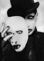Marilyn Manson by Sass-Haunted