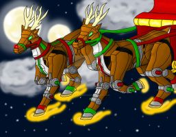 Run Run Rudolph by MidnightLiger0