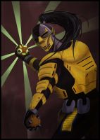 MK tribute: Cyrax by animeninjaz