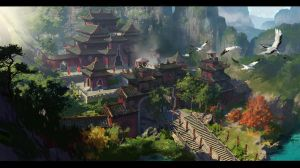 Taoist Temple2 by dawnpu