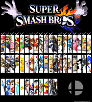 Super Smash Bros for Wii U and 3ds 9th Update by SmashLegacy