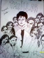 michael jackosn: thriller by 1988foofabeth