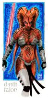 Darth Talon by imaginante