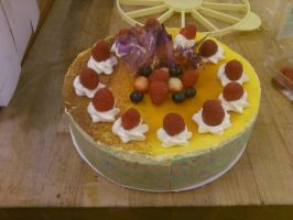 Passion Fruit Torte by AlyceThePirate