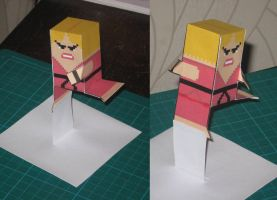 Ken Hurricane-Kick Foldable by paperart