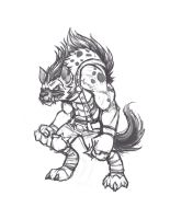 Gnoll conept 01 by Knockwurst