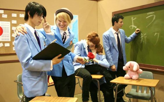 During School Hours ~ The Boys of the Host Club by OurLivingLegacy