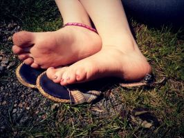 Sandal Soles by Foxy-Feet