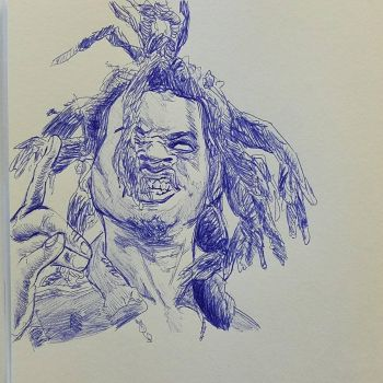 Denzel Curry by Paulie-da-artist
