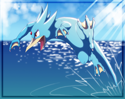 Golduck by ShakShakalut