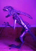 Alien sculpture update2 by braindeadmystuff