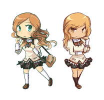 Blink: Puella Chibis by Linkerbell