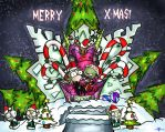 Merry X-mas by Ted-Drakness