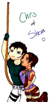 Chris and Sheva by ImpBoy101